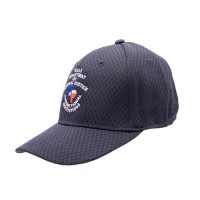 TDCJ Cap B Stretchable Polyester Pro Mesh Flex Cap in Navy