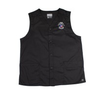 TDCJ 300 Polyester / Cotton Vest in Black