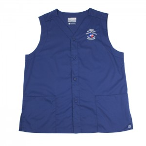 TDCJ 300 Polyester / Cotton Vest in Navy