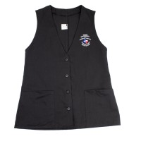 TDCJ A Vest with Pockets in Black