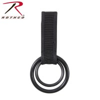 Rothco 15575 Two Ring Baton & Flashlight Holder