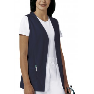 TDCJ 300 Polyester / Cotton Vest in Navy